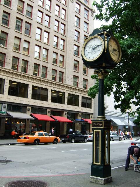 路傍の時計